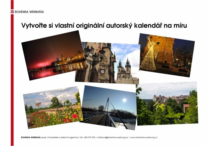 Originální kalendář Praha, Čechy