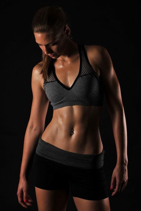 focení fitness, ateliérové focení