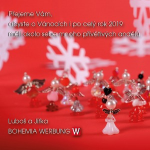 Andělé, BOHEMIA WERBUNG PF 2019