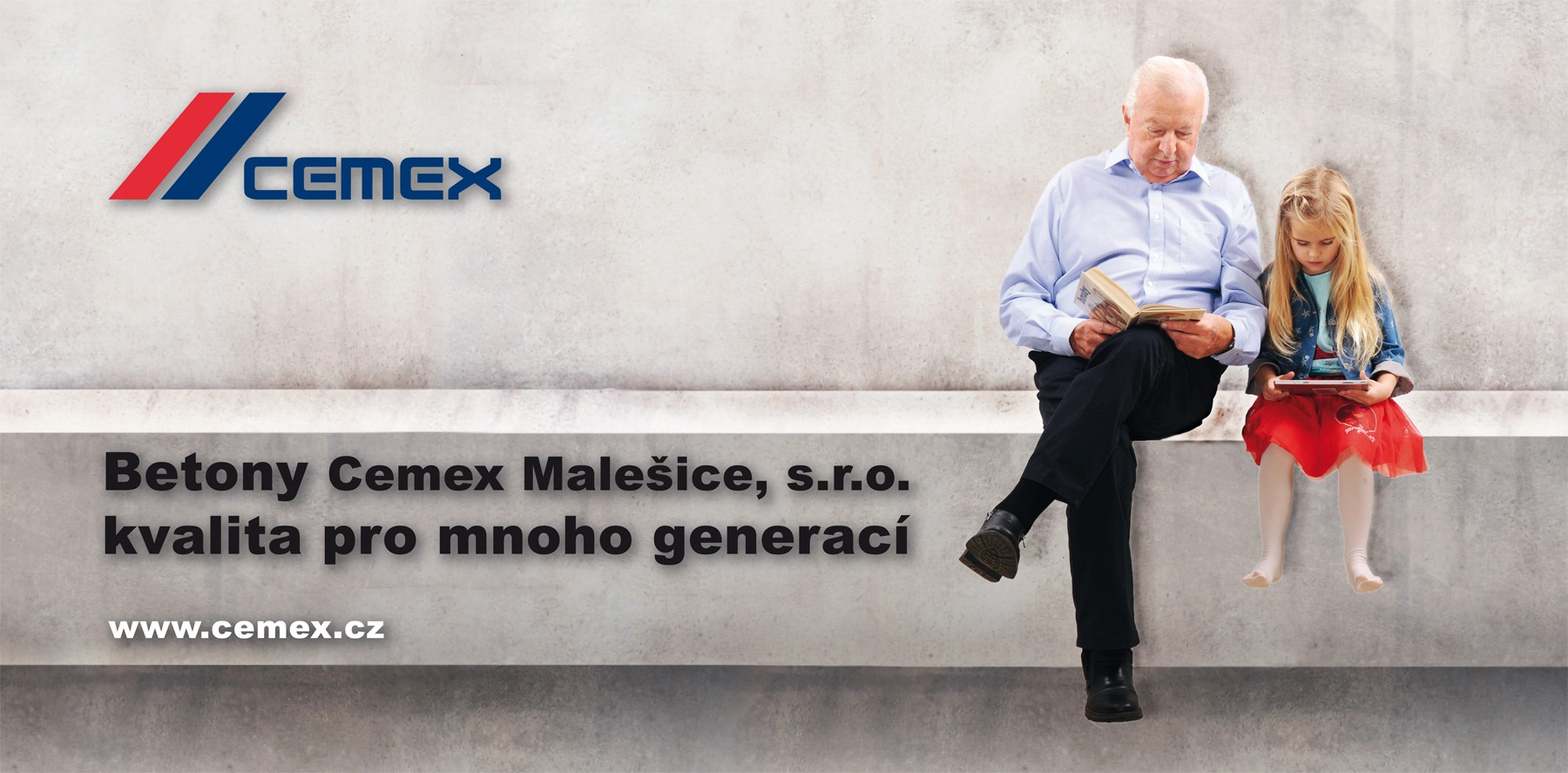 reklama Cemex billboard generace