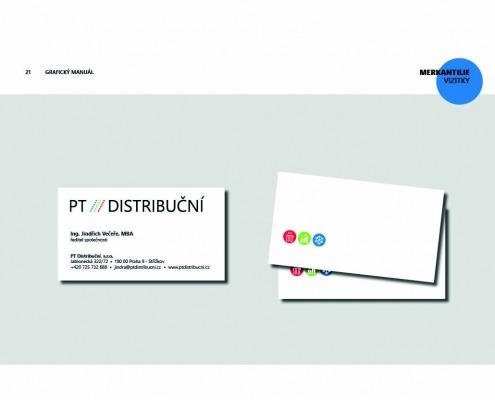 PT Distribuční grafický manuál