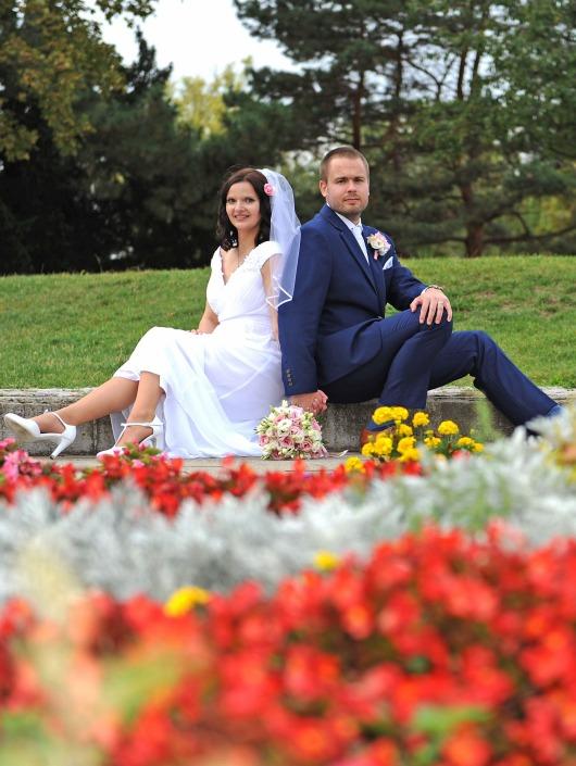 Svatební fotograf v akci