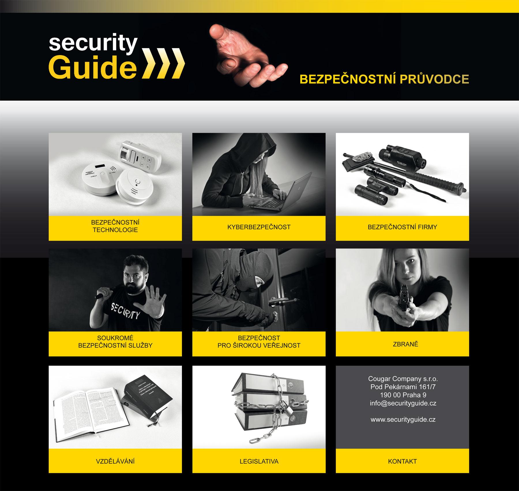 reklamní a ilustrační fotografie pro novou vizuální identitu Security Guide